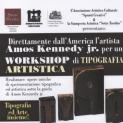 WORKSHOP di TIPOGRAFIA ARTISTICA